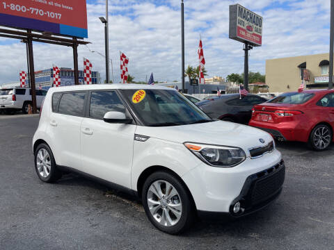 2016 Kia Soul for sale at MACHADO AUTO SALES in Miami FL
