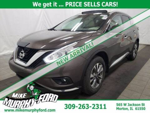 2017 Nissan Murano for sale at Mike Murphy Ford in Morton IL