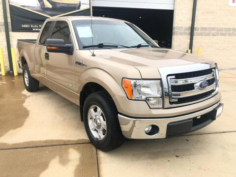 2014 Ford F-150 for sale at KAYALAR MOTORS Mechanic in Houston TX