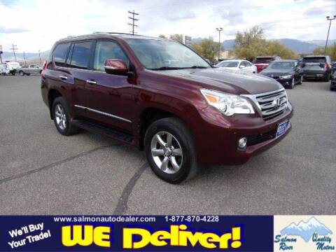 2013 Lexus GX 460 for sale at QUALITY MOTORS in Salmon ID