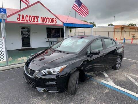 2020 Nissan Versa for sale at Jacoby Motors in Fort Myers FL