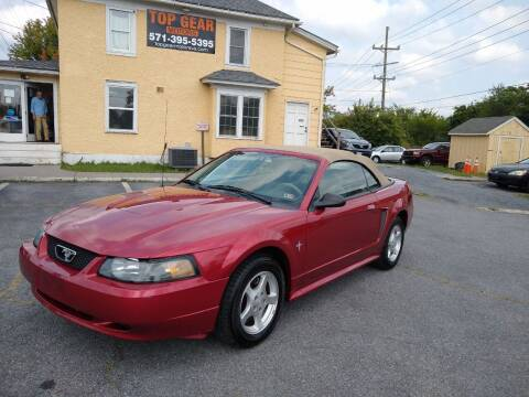 2003 Ford Mustang for sale at Top Gear Motors in Winchester VA