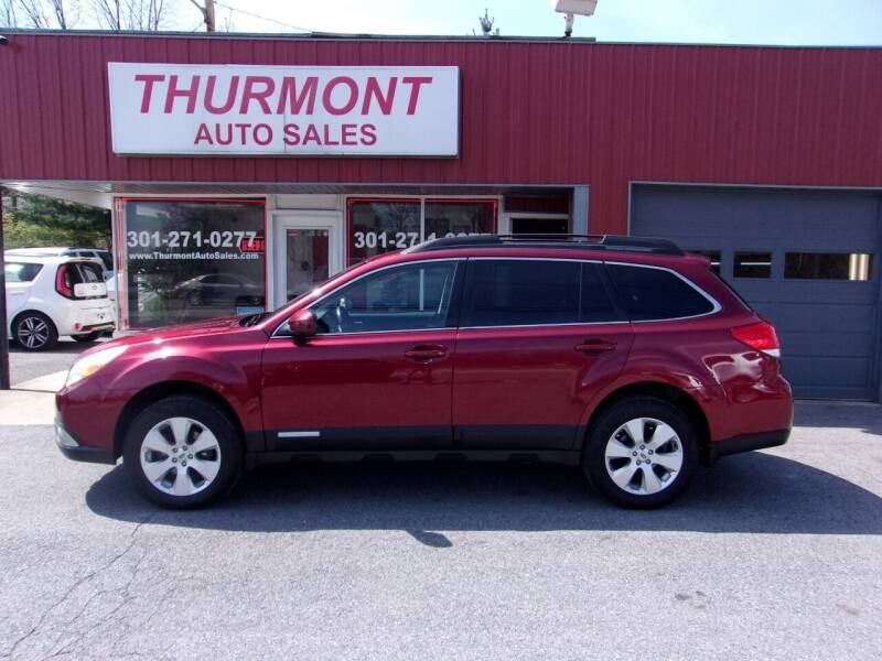 2012 Subaru Outback for sale at THURMONT AUTO SALES in Thurmont MD