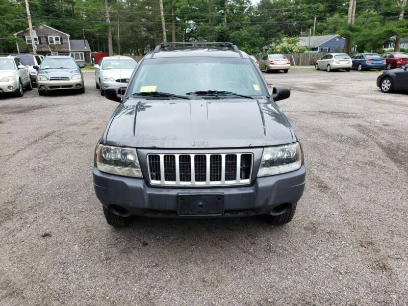 2004 Jeep Grand Cherokee for sale at 1st Priority Autos in Middleborough MA