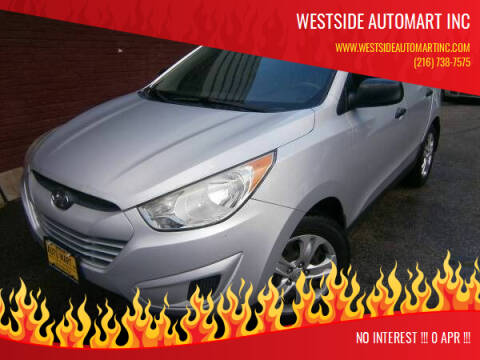 2013 Hyundai Tucson for sale at WESTSIDE AUTOMART INC in Cleveland OH