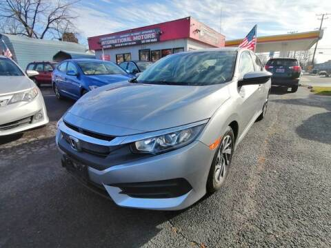 2016 Honda Civic for sale at International Motors in Laurel MD