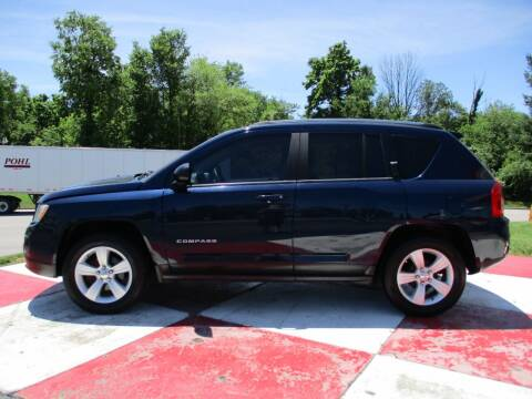 2012 Jeep Compass for sale at TEAM ANDERSON AUTO GROUP INC in Richmond IN