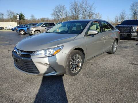 2017 Toyota Camry for sale at Cruisin' Auto Sales in Madison IN