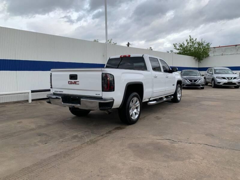 2016 GMC Sierra 1500 4x4 SLE 4dr Crew Cab 5.8 ft. SB - Houston TX