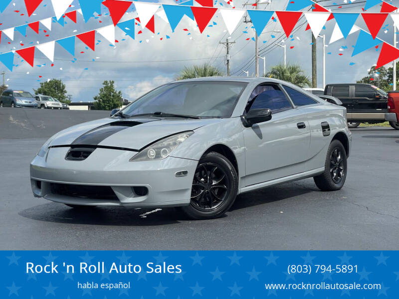 2001 Toyota Celica for sale at Rock 'n Roll Auto Sales in West Columbia SC