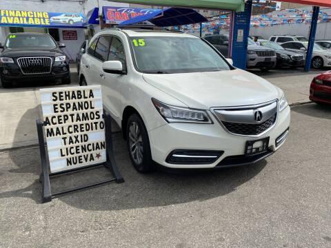2015 Acura MDX for sale at Cedano Auto Mall Inc in Bronx NY