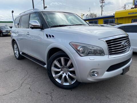 2011 Infiniti QX56 for sale at New Wave Auto Brokers & Sales in Denver CO
