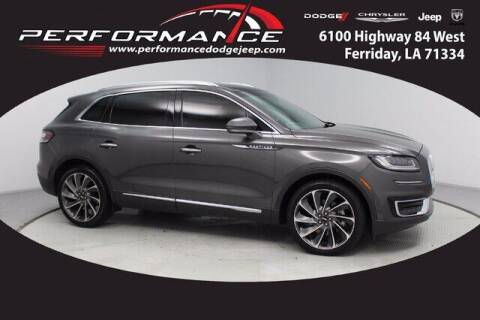 2019 Lincoln Nautilus for sale at Performance Dodge Chrysler Jeep in Ferriday LA