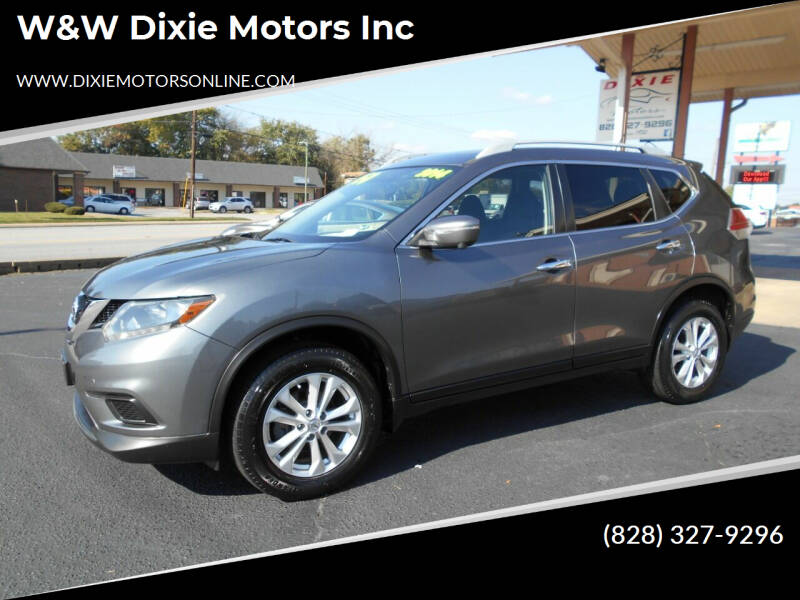2014 Nissan Rogue for sale at W&W Dixie Motors Inc in Hickory NC