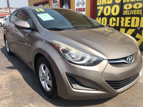 2014 Hyundai Elantra for sale at Sunday Car Company LLC in Phoenix AZ