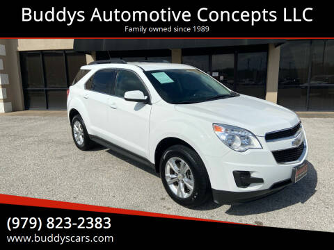 2011 Chevrolet Equinox for sale at Buddys Automotive Concepts LLC in Bryan TX