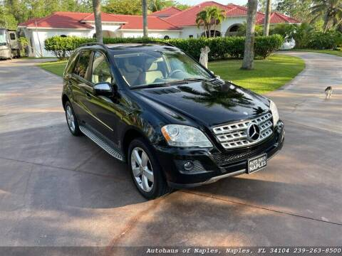 2009 Mercedes-Benz M-Class for sale at Autohaus of Naples Inc. in Naples FL