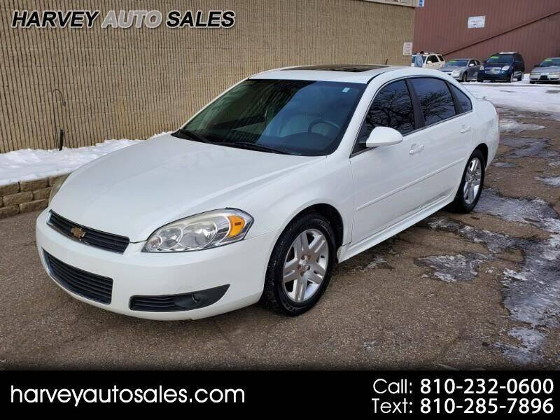 2011 Chevrolet Impala for sale at Harvey Auto Sales, LLC. in Flint MI