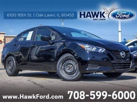 2020 Nissan Versa for sale at Hawk Ford of Oak Lawn in Oak Lawn IL