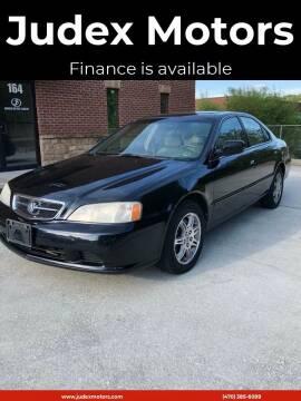 2001 Acura TL for sale at Judex Motors in Loganville GA