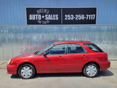 2003 Subaru Impreza for sale at Austin's Auto Sales in Edgewood WA