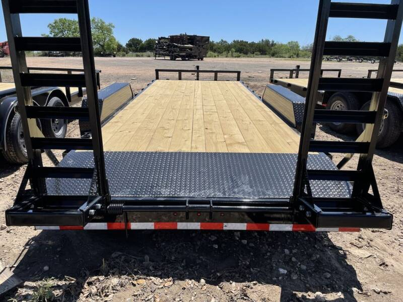 "2021 DELCO - HAULER 83"" X 20' - 12K  for sale at LJD Sales in Lampasas TX"