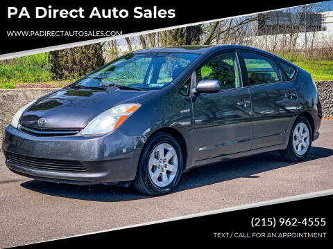 2008 Toyota Prius for sale at PA Direct Auto Sales in Levittown PA