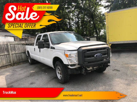 2013 Ford F-350 Super Duty for sale at TruckMax in N. Laurel MD