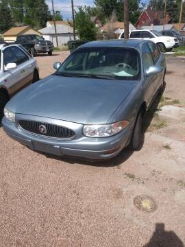 2003 Buick LeSabre for sale at PYRAMID MOTORS AUTO SALES in Florence CO