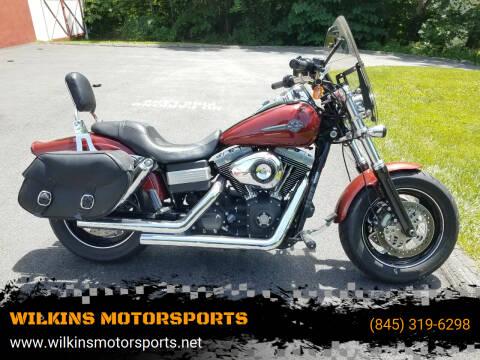 2010 Harley-Davidson Fat Bob for sale at WILKINS MOTORSPORTS in Brewster NY