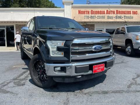 2015 Ford F-150 for sale at North Georgia Auto Brokers in Snellville GA