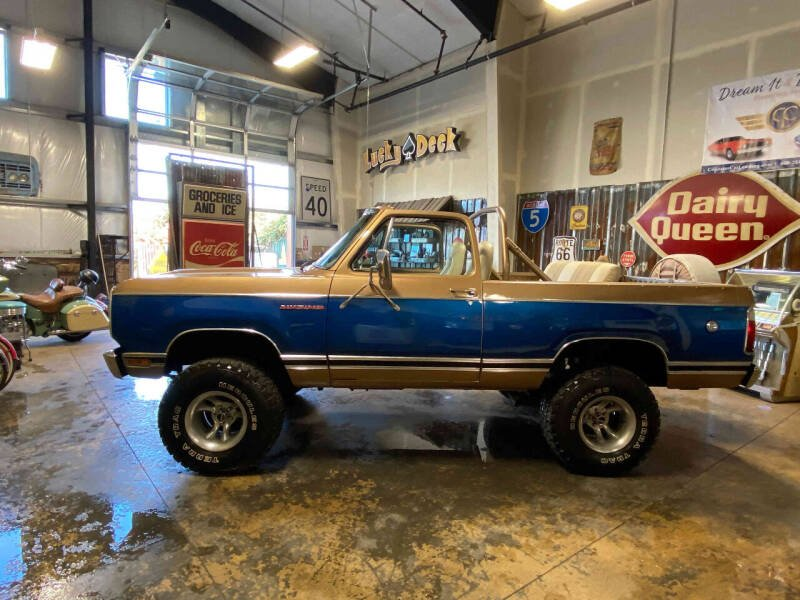 1977 Dodge Ramcharger for sale at Cool Classic Rides in Redmond OR