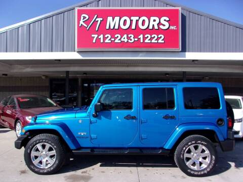 2016 Jeep Wrangler Unlimited for sale at RT Motors Inc in Atlantic IA