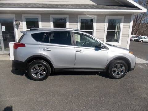 2015 Toyota RAV4 for sale at Bachettis Auto Sales in Sheffield MA