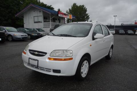 2004 Chevrolet Aveo for sale at Leavitt Auto Sales and Used Car City in Everett WA