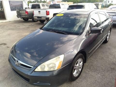 2006 Honda Accord for sale at P S AUTO ENTERPRISES INC in Miramar FL