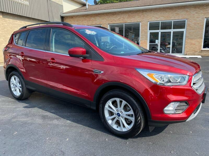 2018 Ford Escape for sale at C Pizzano Auto Sales in Wyoming PA