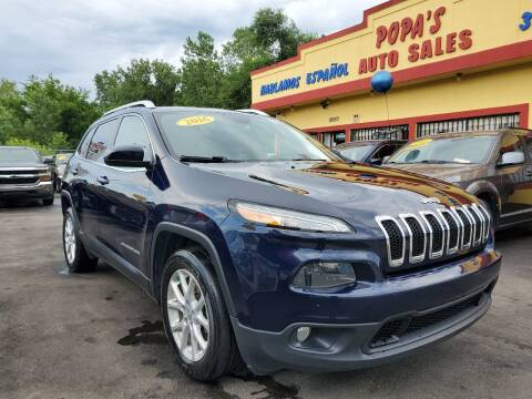 2016 Jeep Cherokee for sale at Popas Auto Sales in Detroit MI