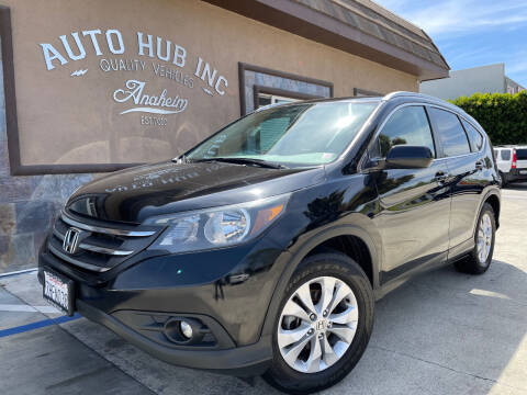 2014 Honda CR-V for sale at Auto Hub, Inc. in Anaheim CA