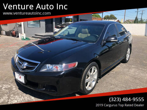 2005 Acura TSX for sale at Venture Auto Inc in South Gate CA