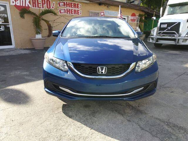 2014 Honda Civic for sale at VALDO AUTO SALES in Miami FL