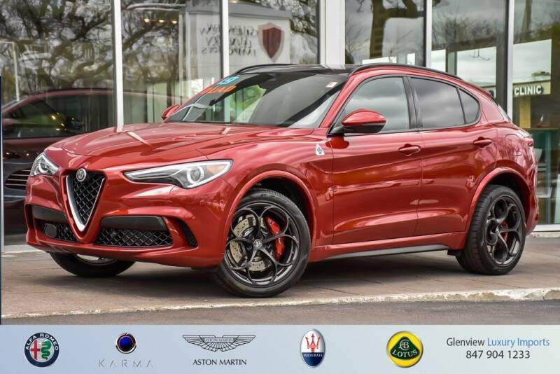 2019 Alfa Romeo Stelvio Quadrifoglio for sale in Glenview, IL