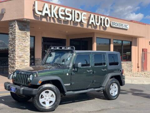 2010 Jeep Wrangler Unlimited for sale at Lakeside Auto Brokers in Colorado Springs CO