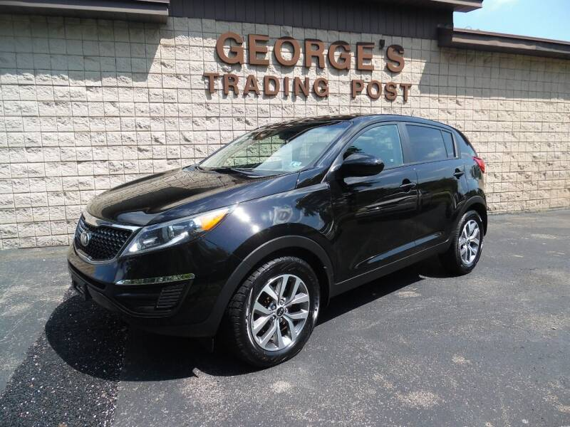 2015 Kia Sportage for sale at GEORGE'S TRADING POST in Scottdale PA