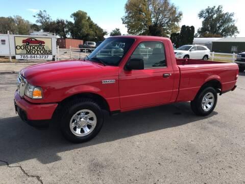 2009 Ford Ranger for sale at Cordova Motors in Lawrence KS