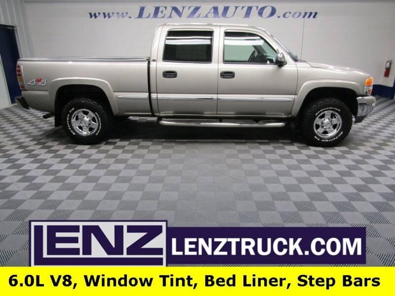 2002 GMC Sierra 1500HD for sale at LENZ TRUCK CENTER in Fond Du Lac WI