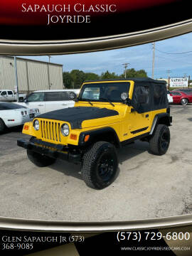 2000 Jeep Wrangler for sale at Sapaugh Classic Joyride in Salem MO