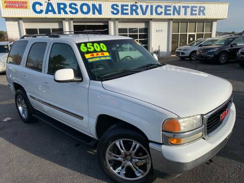 2002 GMC Yukon for sale at Carson Servicenter in Carson City NV