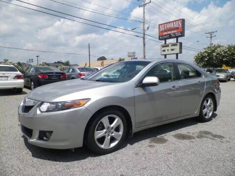 2010 Acura TSX for sale at Autohaus of Greensboro in Greensboro NC