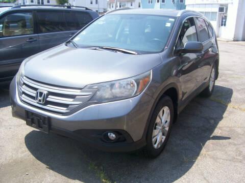 2012 Honda CR-V for sale at Dambra Auto Sales in Providence RI